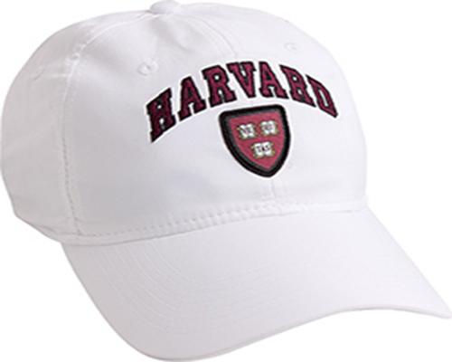 Harvard Veritas White Performance Tech Hat