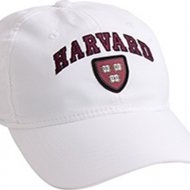 Harvard Veritas White Performance Tech Hat