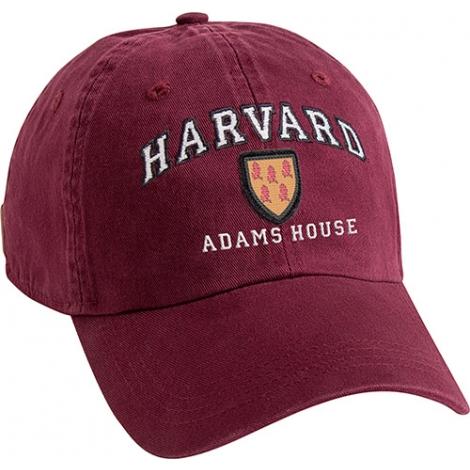 Harvard House Shield Unstructured Adjustable Hat 28433160fc19