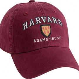 Harvard House Shield Unstructured Adjustable Hat