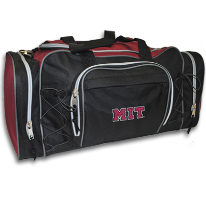 Black MIT Action Duffel Bag