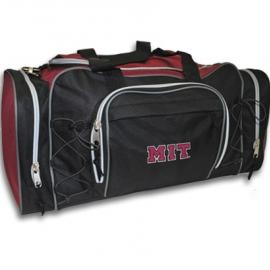 Black MIT Action Duffel Bag