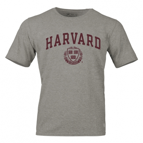 Harvard Russell Athletics Arched Seal Essential Performance Tee