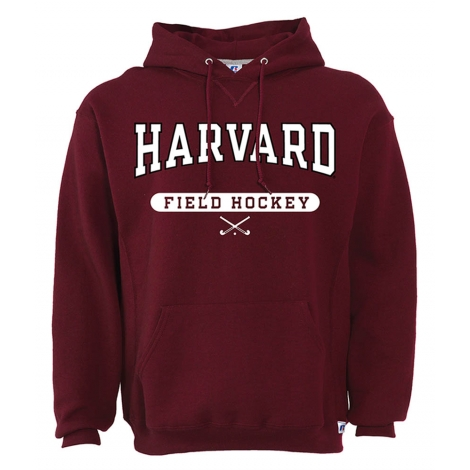Harvard Maroon Hooded Field Hockey Sweatshirt