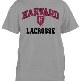 Harvard Lacrosse Grey T Shirt