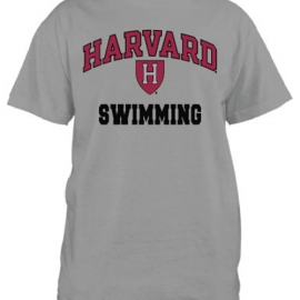 Harvard Swimming Grey T Shirt