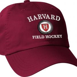 Harvard Athletic Medallion Crimson Field Hockey Hat