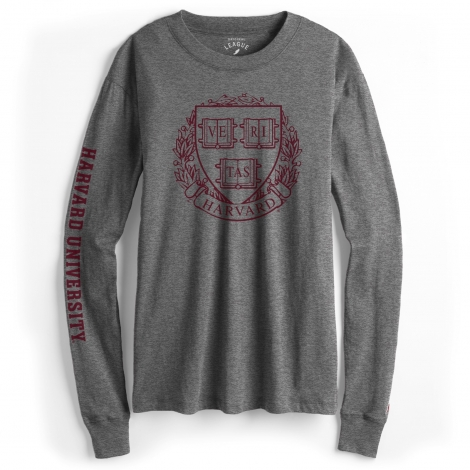 Women's Harvard Long Sleeve Freshy Tee Shirt