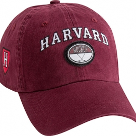 Harvard Maroon Hockey Hat