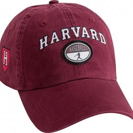 Harvard Maroon Baseball Hat