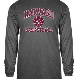 Moisture-Management Performance Basketball Carbon Long Sleeve T Shirt