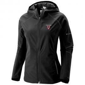Women's Columbia Black Sweet as Soft Shell Harvard Jacket