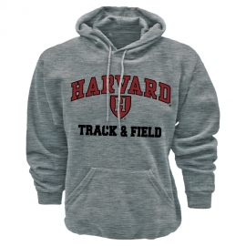 Harvard Grey Athletic Track & Field Hooded Sweatshirt