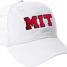 MIT White Performance Tech Hat