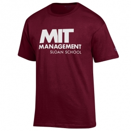 MIT Sloan School of Management Maroon T Shirt