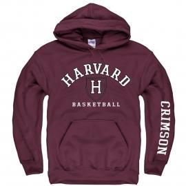 Harvard Athletic Maroon Basketball Hooded Sweatshirt