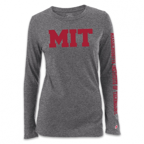 Women's Grey Freshy MIT Long Sleeve T Shirt