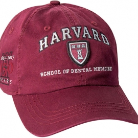 Harvard School of Dental 150 th Anniversary Maroon Hat