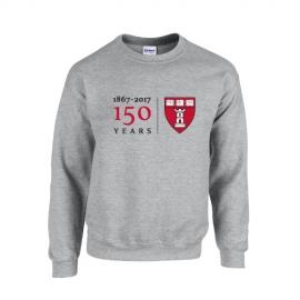 Harvard School of Dental Medicine Grey Crew Sweatshirt