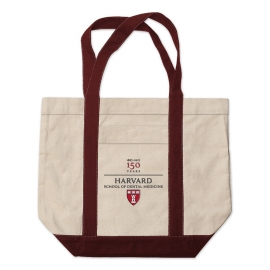 Harvard School of Dental Medicine 150th Medium Embroidered Tote Bag