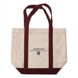 Harvard School of Dental Medicine Medium Embroidered Tote Bag