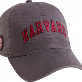Harvard Granite Hat w/ Veritas Shield on Side
