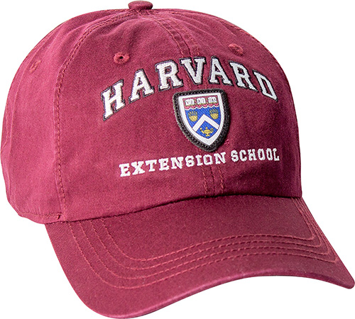 Harvard Extension School Washed Twill Hat