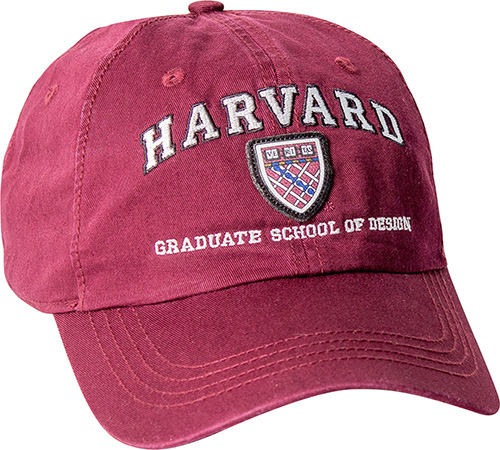 Harvard Graduate School of Design Washed Twill Hat