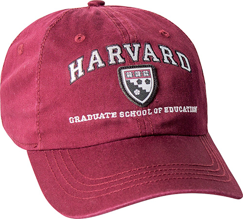 Harvard Graduate School of Education Washed Twill Hat