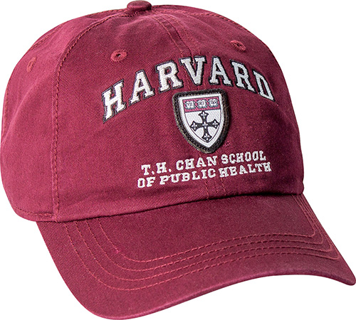 Harvard Graduate School of Public Health Washed Twill Hat