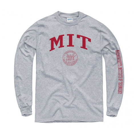 MIT w/Seal Grey Long Sleeve T Shirt