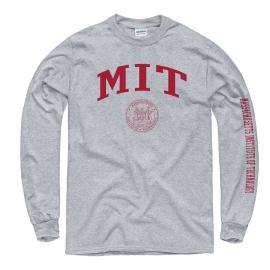 MIT w/Seal Grey Long Sleeve T Shirt