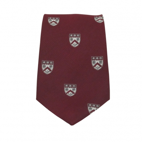 Harvard Extension School Maroon Tie
