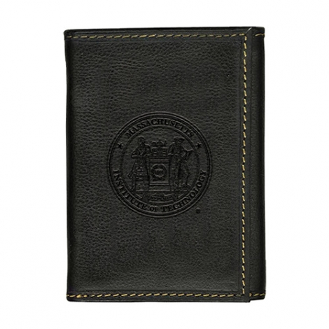 Westbridge MIT Black Trifold Wallet