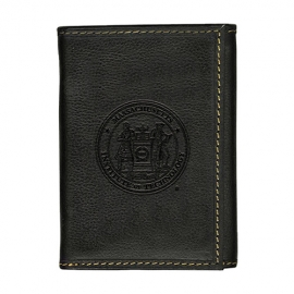 Westbridge MIT Black Trifold Wallet