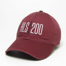 HLS Bicentennial Maroon Hat