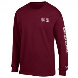 HLS Bicentennial Maroon Long Sleeve T Shirt