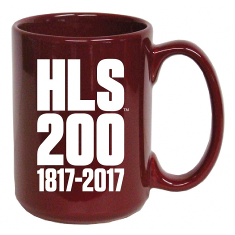 Harvard Law School Bicentennial Ceramic Mug