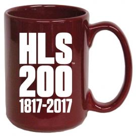 Harvard Law School Bicentennial Ceramic Mug