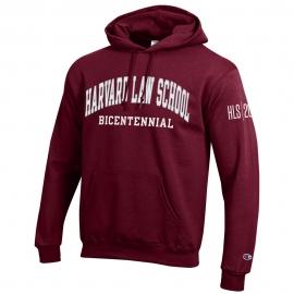HLS Bicentennial Maroon Hooded Sweatshirt