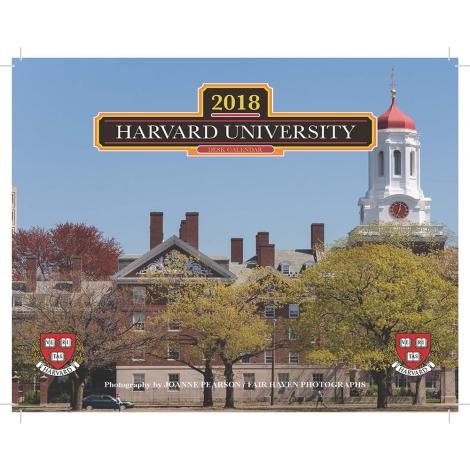 Harvard University 2018 Desk Calendar