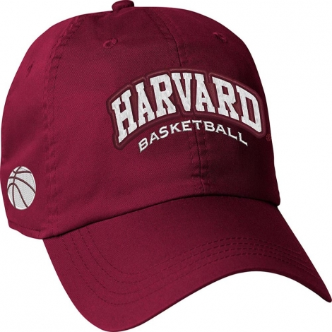 Harvard Crimson Basketball Hat