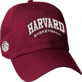 Harvard Crimson Basketball Hat
