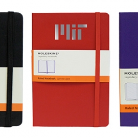 MIT Moleskine Ruled Notebooks