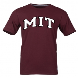 MIT Maroon 2 color T Shirt