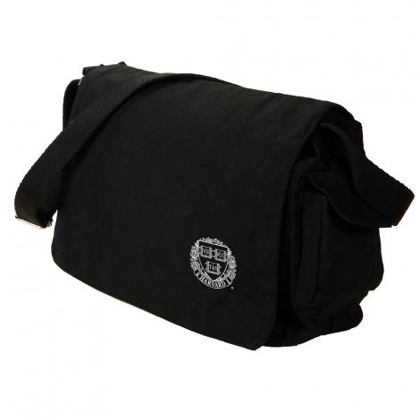 Harvard Veritas  Waxed Cotton Canvas Messenger Bag