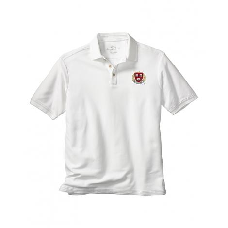 Tommy Bahama Harvard Enfielder White Polo