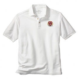 Tommy Bahama Harvard Emfielder  White Polo