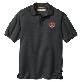 Tommy Bahama Harvard All Square Black Polo
