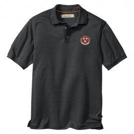 Tommy Bahama Harvard All Square Black Polo